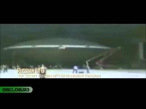 Top secret footage leaked - Russian UFO hovering