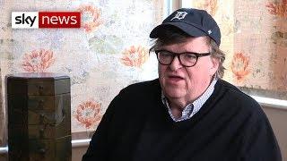 Documentary filmmaker Michael Moore talks about Trump's presidency and new film Fahrenheit 11/9 - SKYNEWS