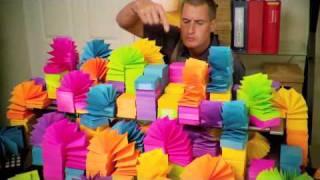 Эксперименты с 280 000 липких листочков