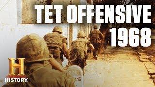 Tet Offensive Reshapes the Vietnam War | Flashback | History - HISTORYCHANNEL