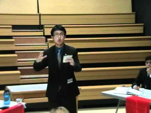 Eurasian Schools Debating Competition 2011 - Quarter Final - Singapore vs UAE A Part 3