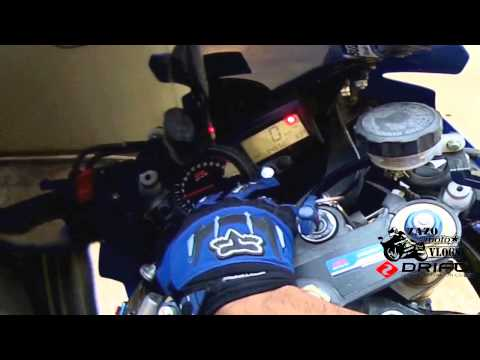 how to set SHIFT LIGHT on a gsxr 600, 750, 1000 2004 2005