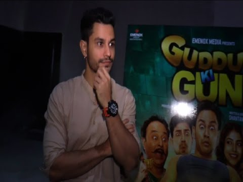 Kunal Khemu Promoting 'Guddu Ki Gun'