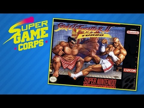 Street Fighter 2 Turbo - Super Game Corps