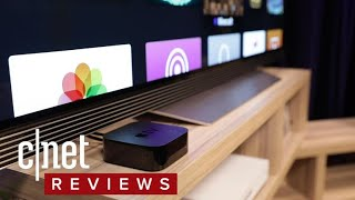 Apple TV 4K review: Sleek 4K HDR streaming for a premium price - CNETTV