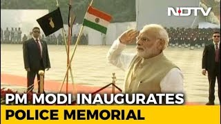 PM Modi Inaugurates Police Memorial, Museum - NDTV
