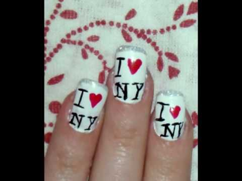 0 Manicure in style  I love NY 