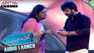 Sardar Gabbar Singh Director Bobby Launches I Am in Love Song At Subramanyam for Sale Audio Launch - ADITYAMUSIC