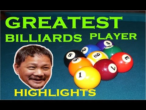 Greatest EVER player in Billiards HIGHLIGHTS
