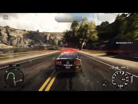 Need for Speed: Rivals - Chap 2 Gloves Come Off: Capture a Racer, Side Slam, Shelby GT 500 Mustang
