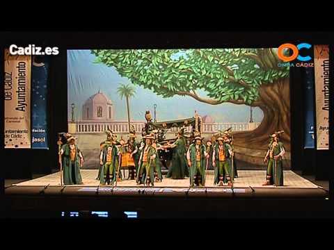 La agrupación La hermandad de la buena suerte llega al COAC 2014 en la modalidad de Comparsas. En años anteriores (2011) concursaron en el Teatro Falla como Los soberanos, consiguiendo una clasificación en el concurso de Preliminares.