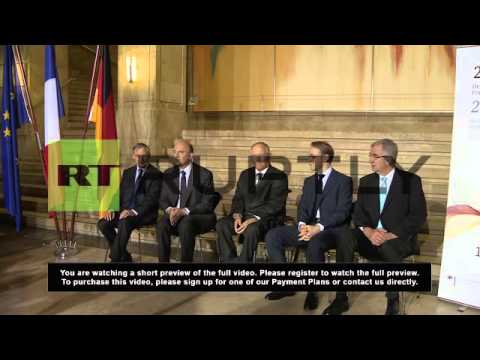 Germany: France and Germany discuss roles in European crisis