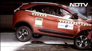 Nexon Crash Test, Ford Pothole Detection, Monster Vs Street Triple - NDTV