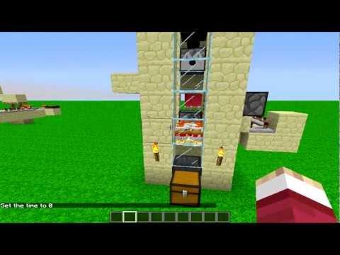 MineCraft 1.7.5 - Farm Infinita de Carne Assada, Pena e Ovos.