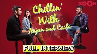 Chillin' With Arjun Kanungo & Carla Dennis | Tu Na Mera | Full Interview | Exclusive - ZOOMDEKHO