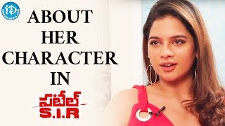 Tanya Hope About Her Character In Patel SIR Movie || Talking Movies With iDream - IDREAMMOVIES