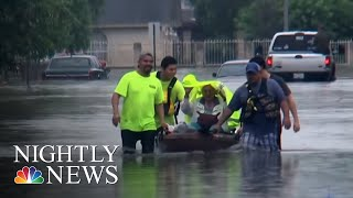 Parts Of Texas Submerged After Heavy Rain Triggers Flash Floods | NBC Nightly News - NBCNEWS