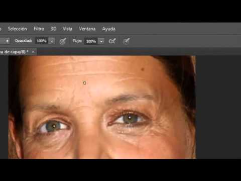 Como quitar las arrugas con photoshop cs6 2013