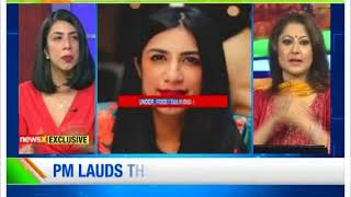 Girl Power: Founder of Food Talk India Anjali Batra on NewsX - NEWSXLIVE
