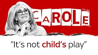 """Carole says parents are """"setting their kids up to fail"""" - SKYNEWS"""