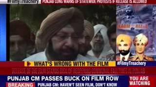 Amarinder Singh: Ban a film that leads to provocation - NEWSXLIVE