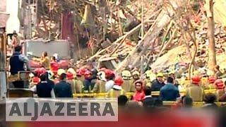 Search for survivors at Tehran collapsed tower - ALJAZEERAENGLISH