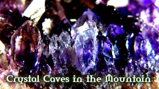 Royalty Free :Crystal Caves in the Mountain