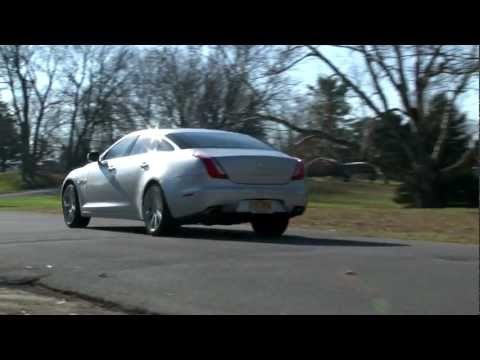 2012 Jaguar XJL SuperSport - Drive Time Review with Steve Hammes