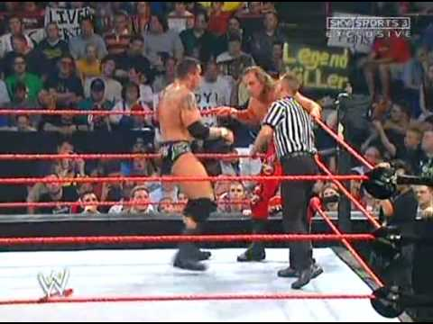FULL LENGTH MATCH - Raw - Shawn Michaels vs Randy Orton