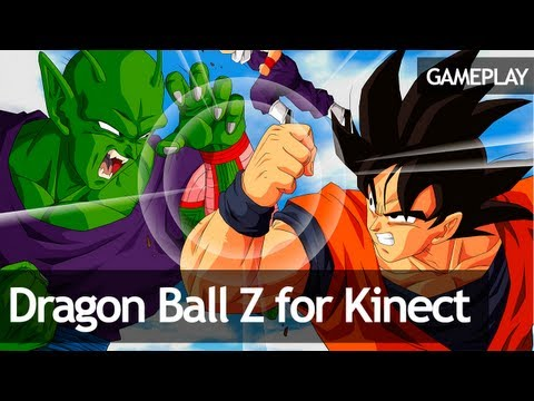 Dragon Ball Z for Kinect Gameplay 1 Tutorial