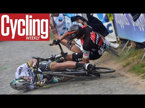 Peter Sagan's crash from a new viewpoint | Tour of Flanders 2017 | Cycling Weekly