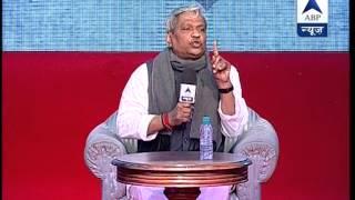 Full UNCUT VIDEO ll Watch BJP leader Prabhat Jha in ABP News' Show GhoshanaPatra - ABPNEWSTV