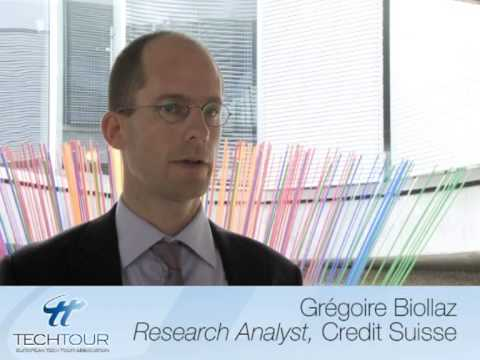 Tech Tour Medtech Summit Interview with Gregoire Biollaz, Credit Suisse