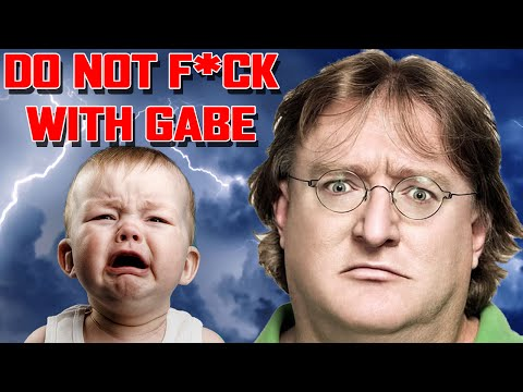 Dev Threatens to KILL Gabe Newell - BAD IDEA!