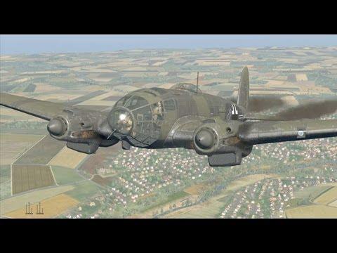 Heinkel He 111 - Flight Full HD