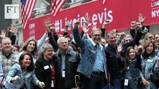 NYSE suspends 'no jeans' rule for Levi's IPO - FINANCIALTIMESVIDEOS