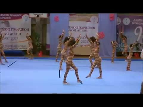 12ο Φεστιβάλ Γενικής Γυμναστικής Ανατολικής Αττικής
