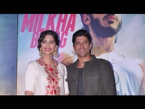Farhan And Sonam At 'Bhaag Milkha Bhaag' Music Launch
