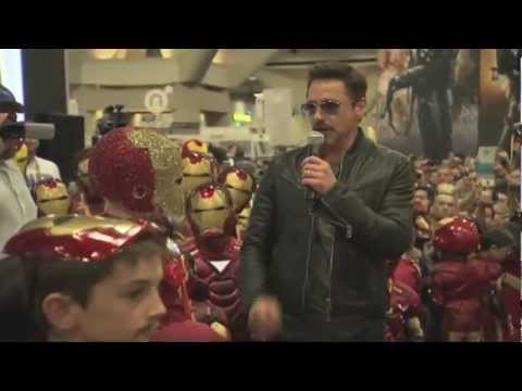 Comic Con 2012 - 'Iron Man 3' Appearance By Robert Downey Jr