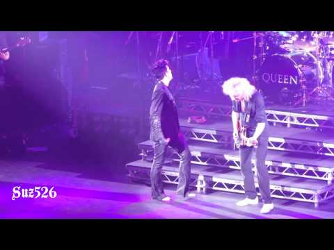 "17 Queen + Adam Lambert ""Crazy Little Thing Called Love"" London 7/12/12.m4v"
