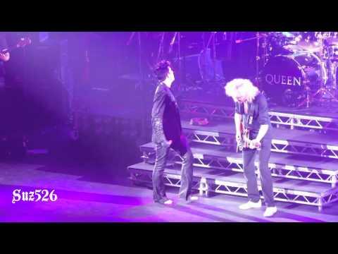 """17 Queen + Adam Lambert """"Crazy Little Thing Called Love"""" London 7/12/12.m4v"""