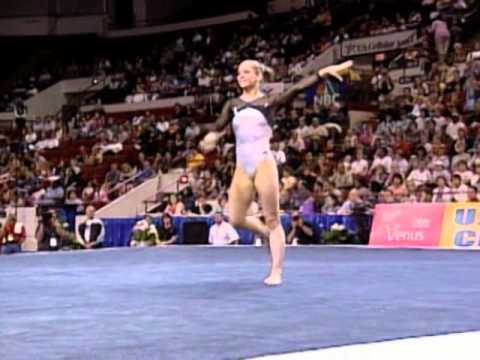 Katie Heenan - Floor Exercise - 2003 U.S. Gymnastics Championships - Women - Day 1