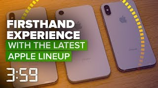 Our firsthand impressions of the iPhone XS, XR, Max and Apple Watch (The 3:59, Ep. 458) - CNETTV