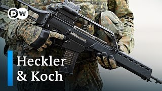 Heckler & Koch fined in illegal Mexico arms trade | DW News - DEUTSCHEWELLEENGLISH