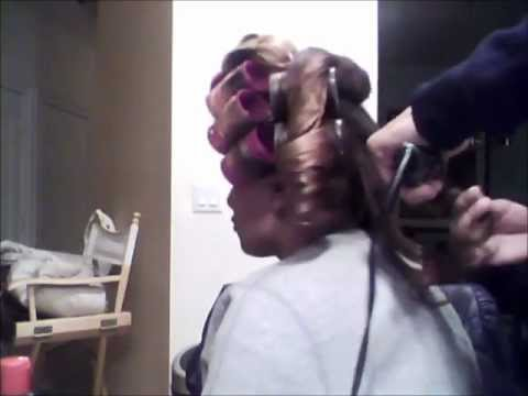 How To: Roller Set on Natural Hair | Doobie |