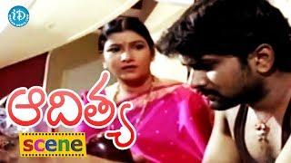 Aditya Movie Scenes - Swetha Comedy ||  Shilpa || Jagadish || Swapna || Shasidhar - IDREAMMOVIES