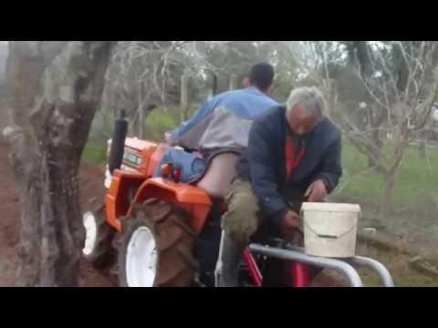 Φύτεμα πατάτας με KUBOTA στον Καρδαμα Ηλειας  2014(πατεντα)