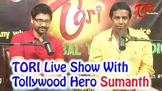 TORI Live Show with Tollywood Hero Sumanth - TELUGUONE