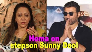 SUNNY took care of me after accident: Hema Malini - BOLLYWOODCOUNTRY