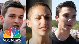 Stoneman Douglas students speak at Harvard University - NBCNEWS